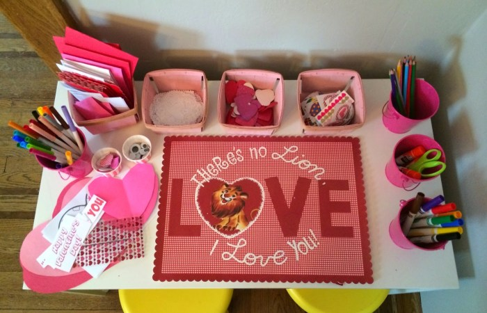 Valentine's Day Card Making Party {With Printables}