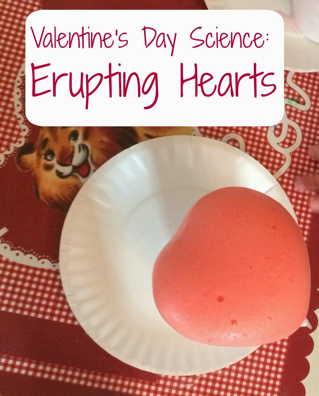 Valentine S Day Science Experiment Erupting Hearts
