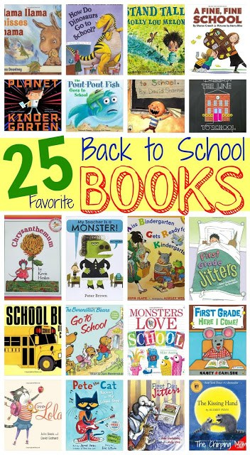 25 Back to School Books for Children    The Chirping Moms