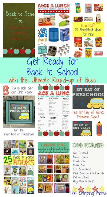 Giant List of Back to School Tips & Ideas || The Chirping Moms