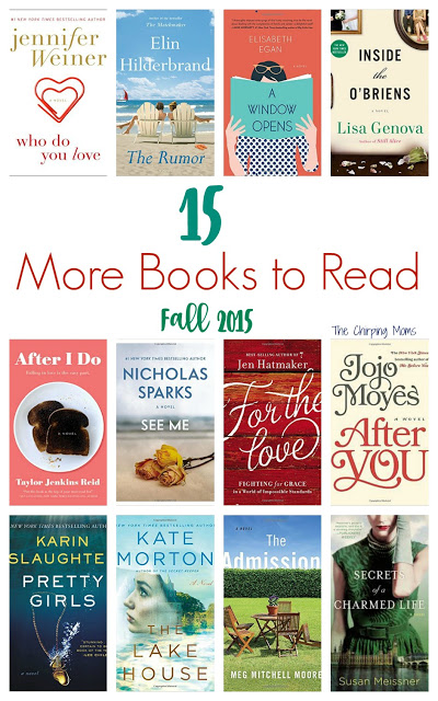 15 More Books to Read in 2015 || The Chirping Moms
