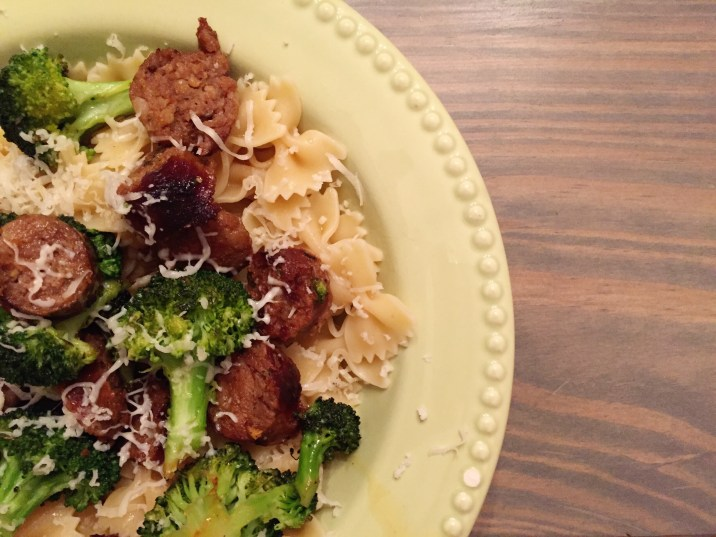 easy-weeknight-meal pasta and sausage recipe