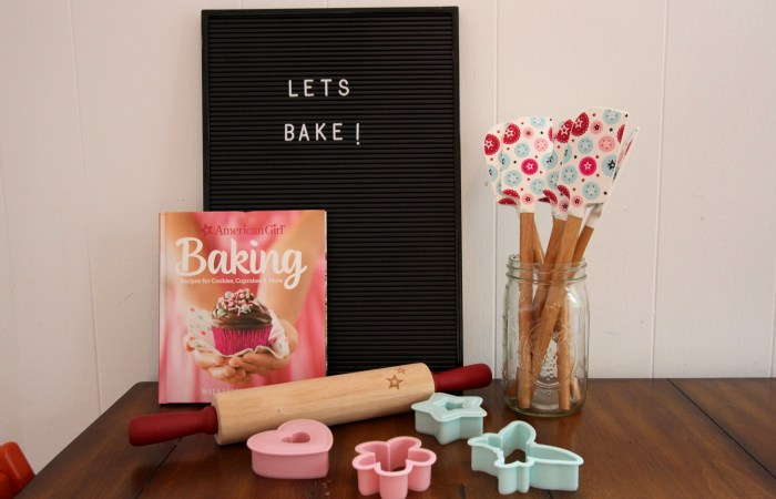 An American Girl Baking Party