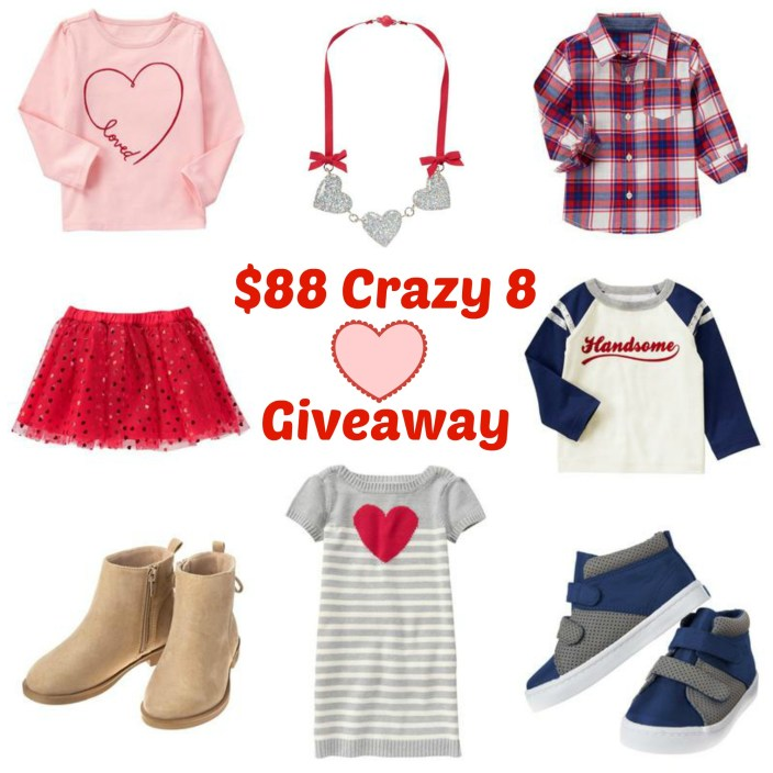 crazy 8 giveaway image