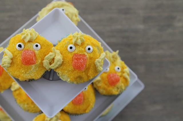 Spring Chick Cupcakes