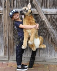 diy police costume and k 9 dog halloween costume diy ...