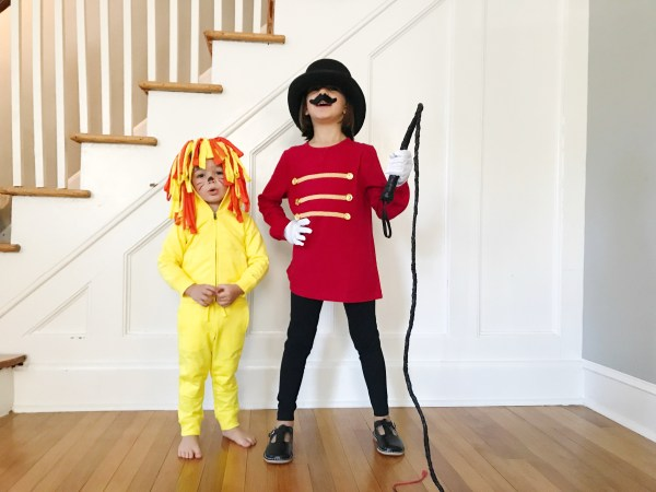 Easy Dy Halloween Costumes Lion And Tamer