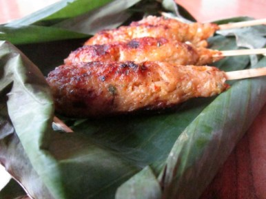 Indonesian Spirit: Chicken Satay