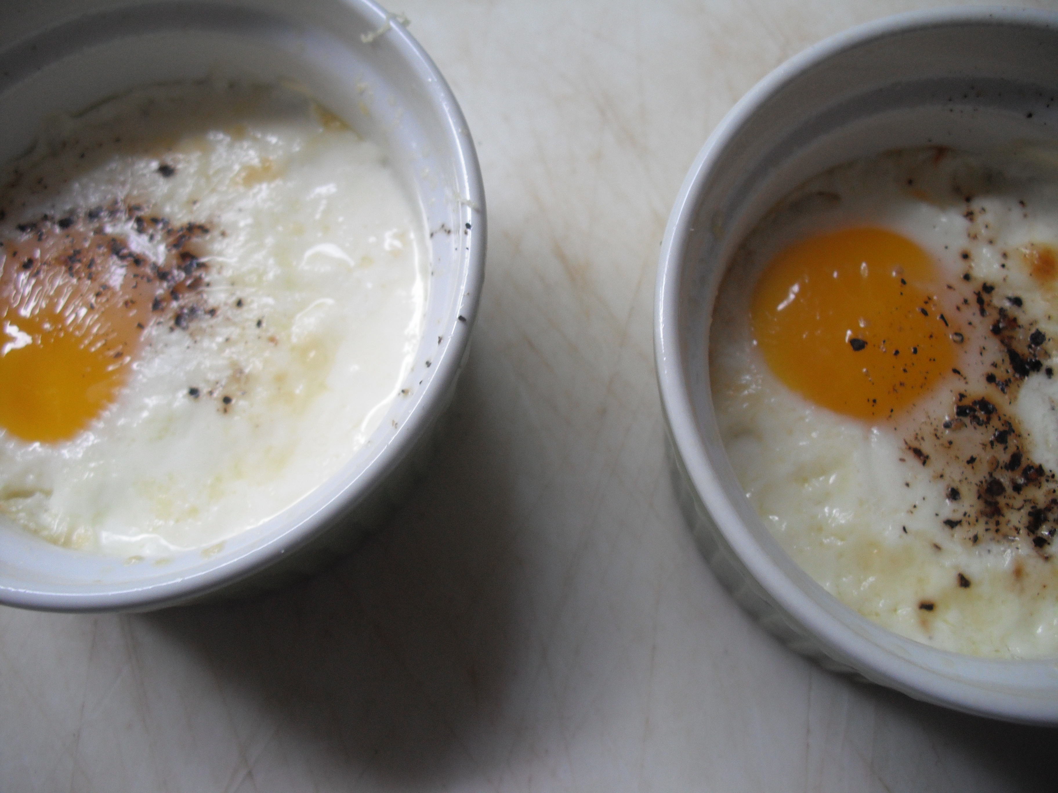 Eggs with Cream  Coddled Eggs  thechocolatecliche