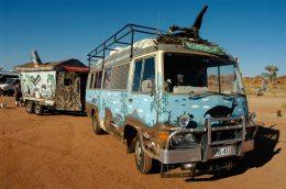 The Chookman's bus