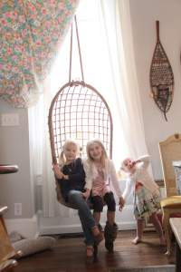 The chris and claude co. indoor swings