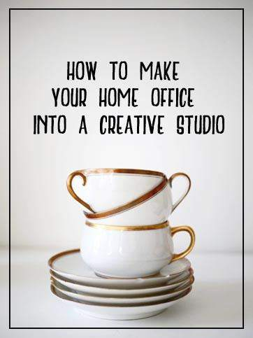 Blog on studio, creative home office and beauty