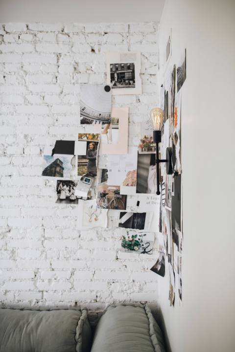 Collage Wall by The Chris & Claude Co.