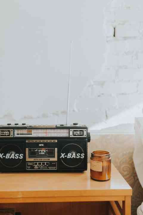 vintage tape player