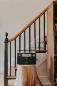 old radio in Lancaster renovation