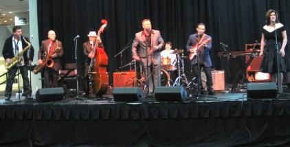 The band at the BMAs