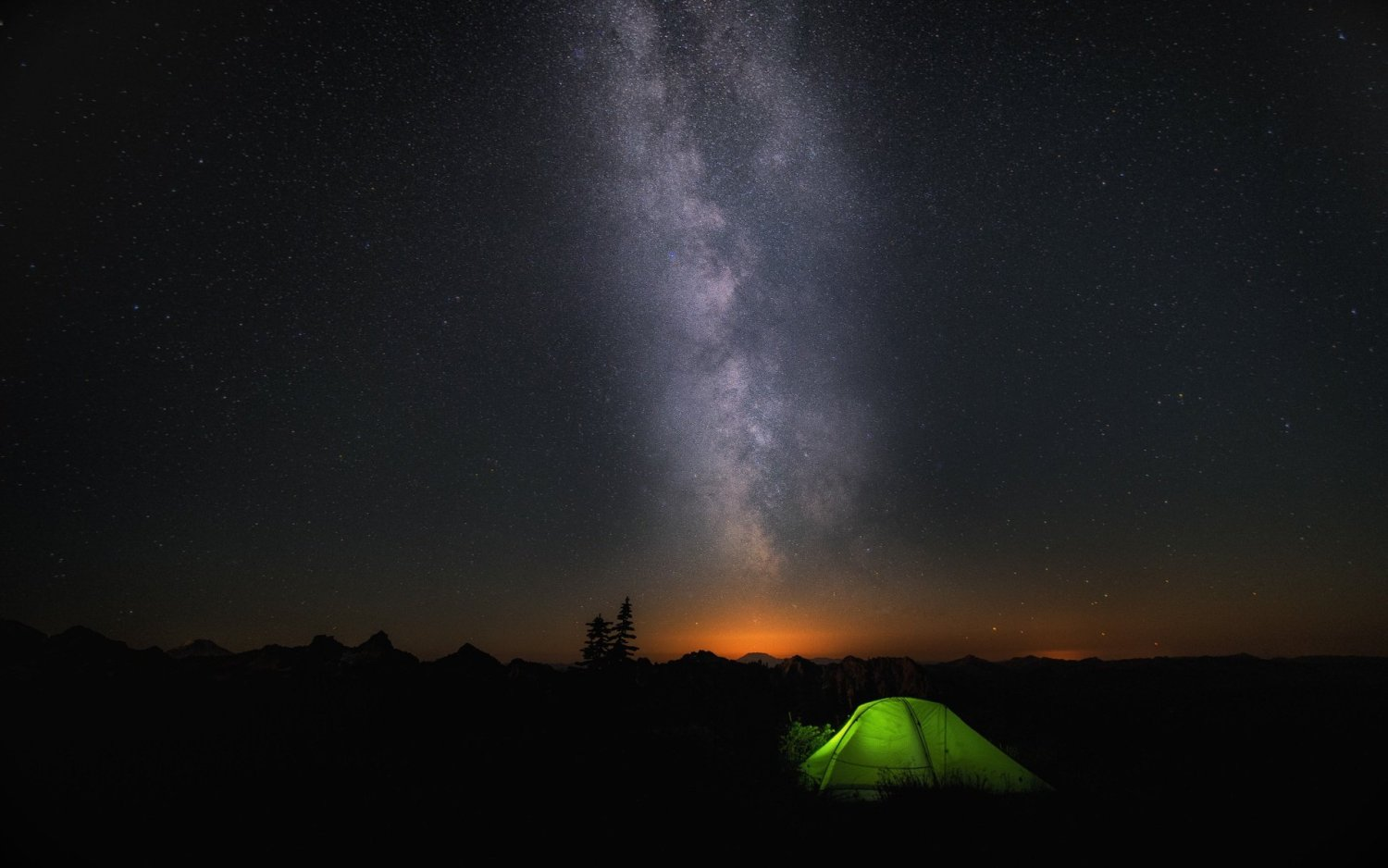 Camping Under The Stars 1