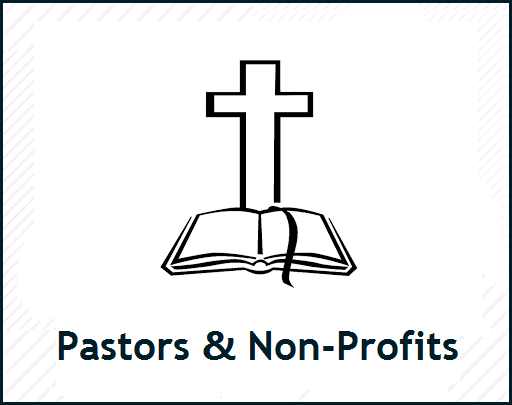 Pastors and Non-profit Registration