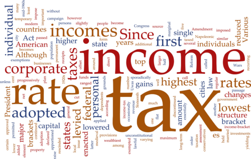 """June 26 Monthly Study: """"Taxes"""" 12:00 – 1:30 p.m."""