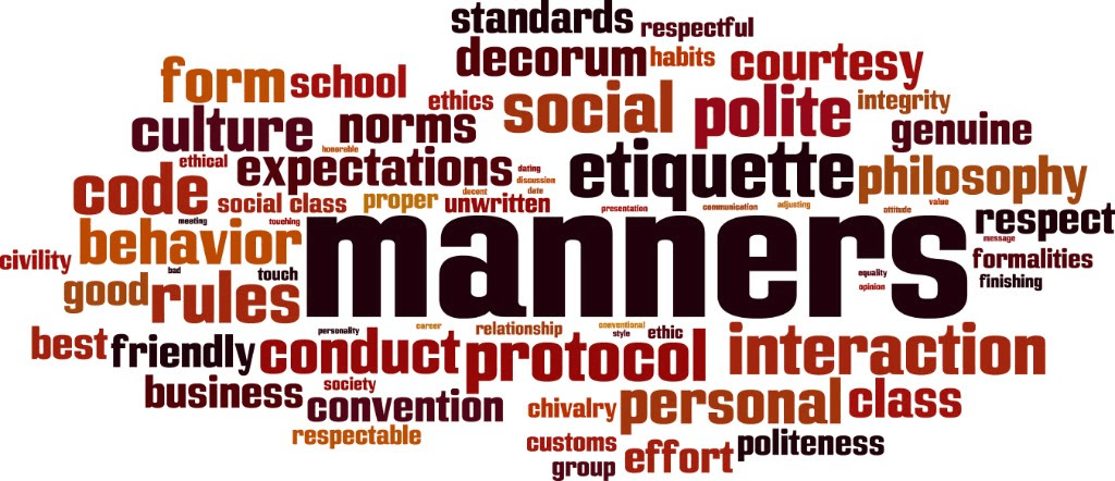Manners – Lesson for Group Study