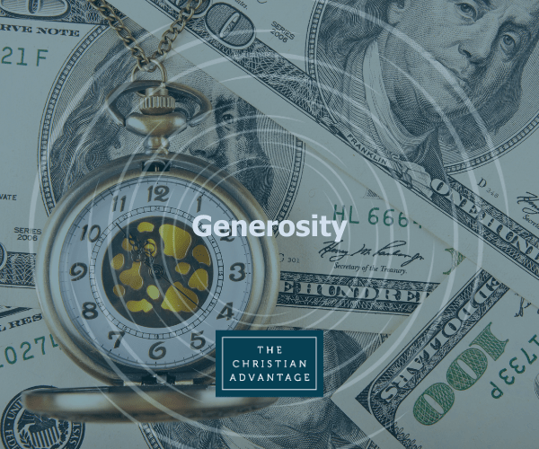 Generosity – Lesson For Group Study