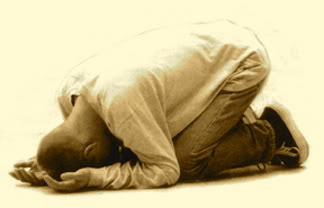 prostrate before god