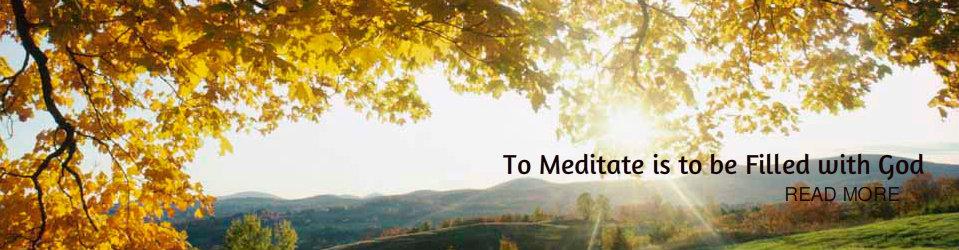 Meditate on God