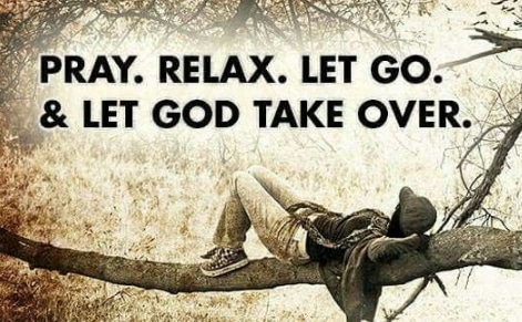 Relax in God Holy Ghost Meditation