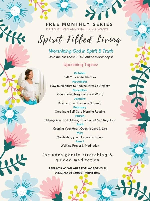 spirit-filled living