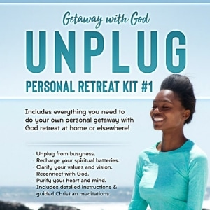 Unplug Christian Personal Retreat Kit