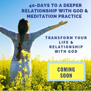 40 days to a deeper relationship with God