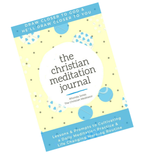 the christian meditation journal