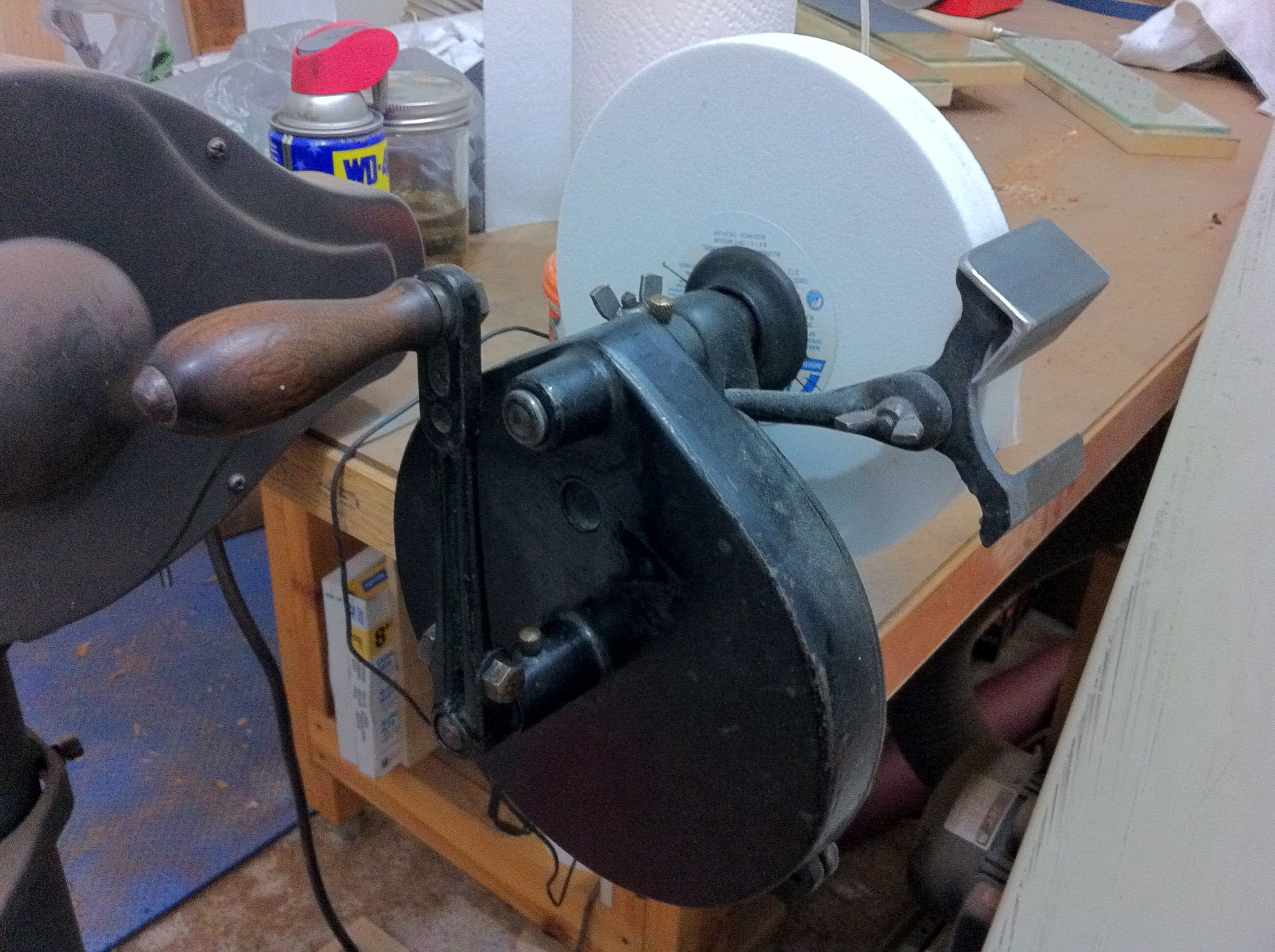 Super Hand Crank Bench Grinder For Sale Woodworking Gmtry Best Dining Table And Chair Ideas Images Gmtryco