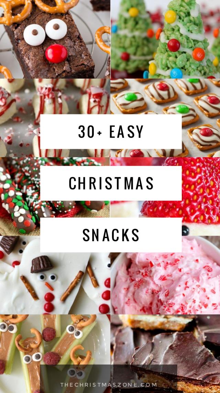 30 Easy Christmas Snacks Everyone Will Love Delicious Christmas