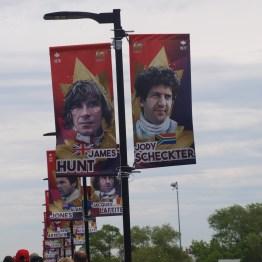 James Hunt and Jody Scheckter