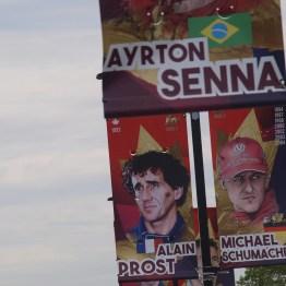 Senna, Prost and Schumacher