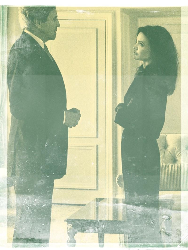 Angelina Jolie and John Kerry