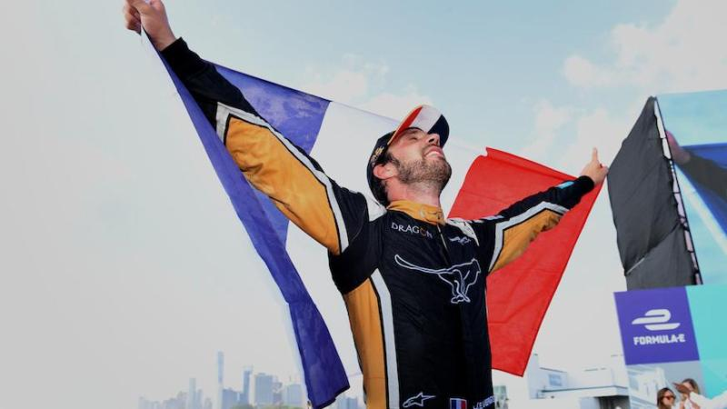 Vergne The Champion