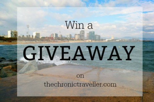 Win a giveaway on the chronic traveller