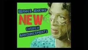 Rickey Smiley's Sister Bernice Jenkins Character