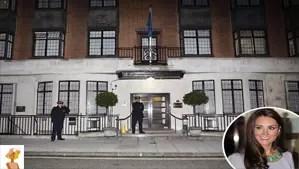 """Kate Middleton, london hospital"""