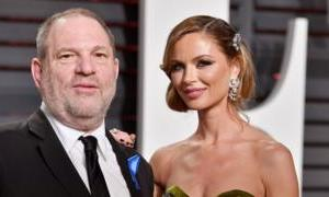 Harvey Weinstein: Wife Georgina Chapman leaves accused producer