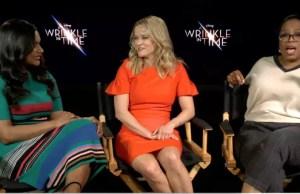 Oprah, Reese Witherspoon, Mindy Kaling Talk 'Wrinkle,' Loving Your Hair & Negative Energy