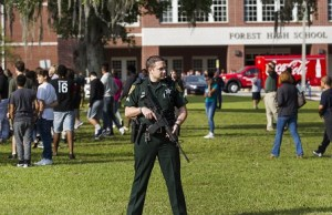 1 Injured, Suspect In Custody In Florida School Shooting