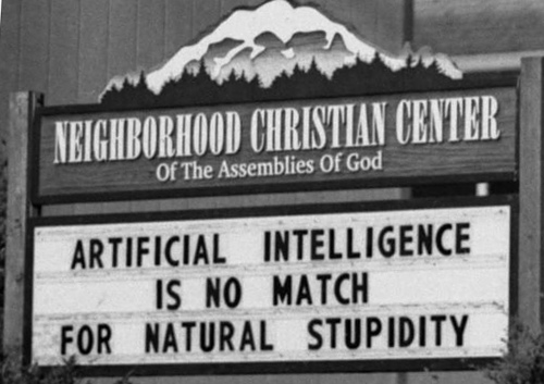 Do you have Natural Stupidity?