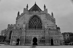 Exeter Cathedral at Winter