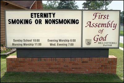 Church Notice Board of The Week