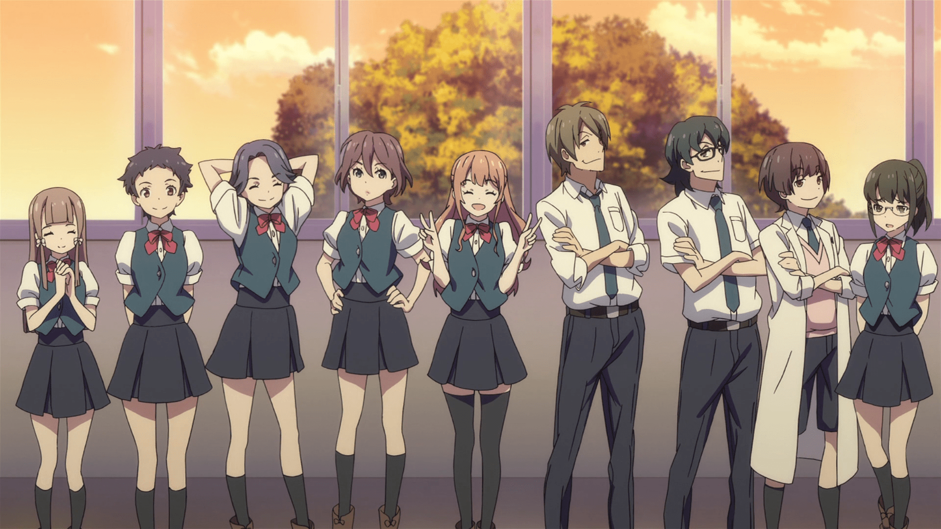 Early Fall Wallpaper Classroom☆crisis Conflict And Resolution The Chuuni Corner