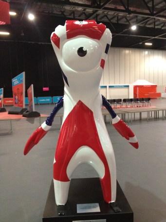 The London Olympics mascot