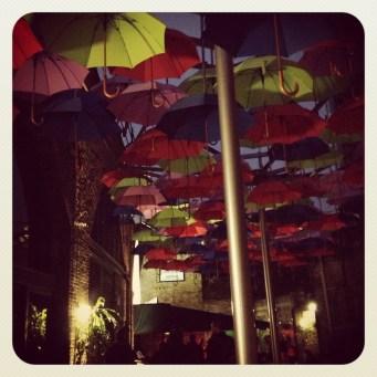 Umbrella Canopy @ Wine Wharf, Stoney Street, SE1